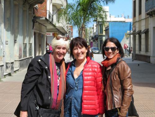 Constance Egger-Klee (Autriche) et Tina Struthers (Canada)