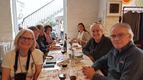 Dorothea Van De Winkel et Jeannine De Raeymaecker (Belgique), Gabriela Nirino Larroquette, Gracia Cutuli et sa nièce (Argentine)