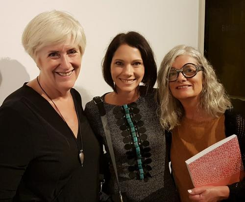 Avec Tina Struthers et Line Dufour (Canada)