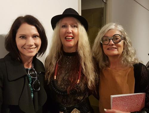 Tina Struthers (Canada), Fiona Kirkwood (Afrique du Sud) et Line Dufour (Canada)