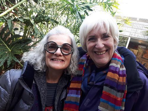 Avec Line Dufour